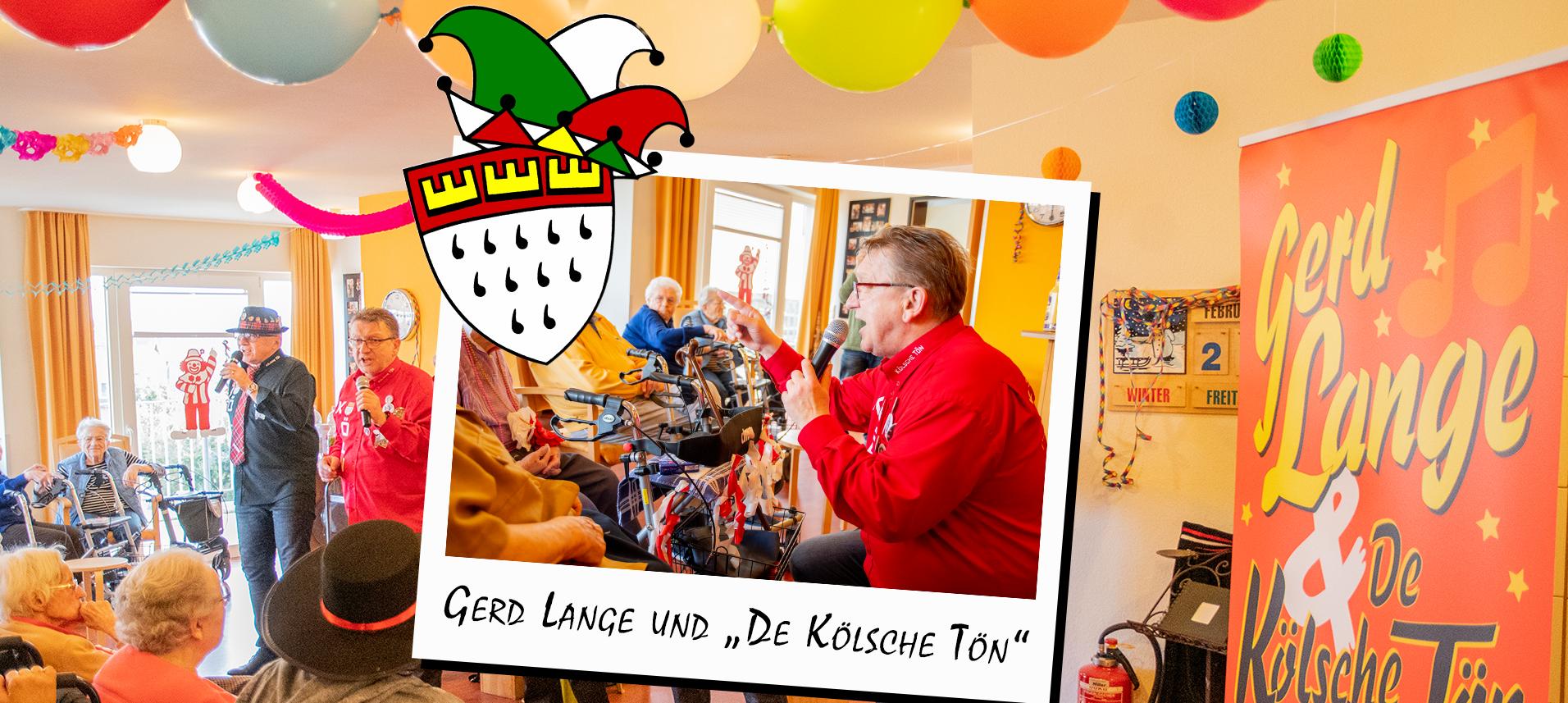 Karneval mit Gerd Lange
